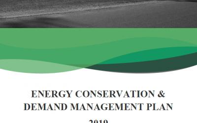 ENERGY CONSERVATION & DEMAND MANAGEMENT PLAN 2019