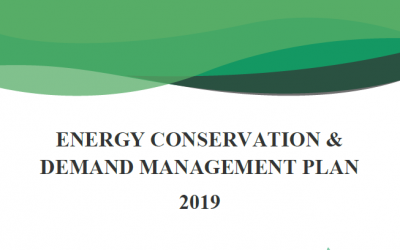 ENERGY CONSERVATION & DEMAND MANAGEMENT PLAN 2019