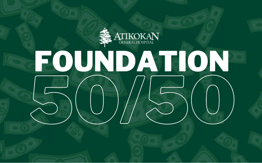 AGH FOUNDATION 50/50 LOTTERY IS LIVE!